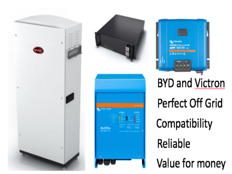 BYD B-Box and Victron