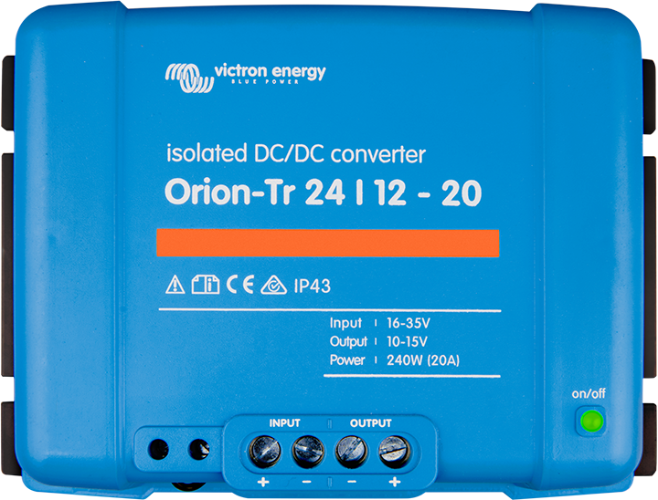 Isolated DC-DC 110W VICTRON ENERGY Orion-TR 12//12-9A ORI121210110